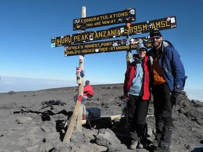 Mcqueens Climbing Uhuru