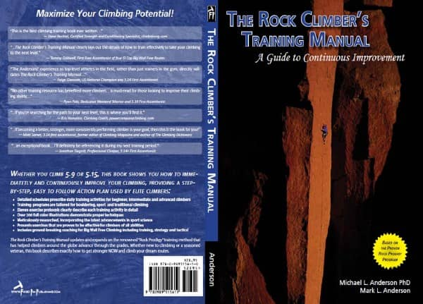 The Rock Climbers Training Manual by Michael L. Anderson